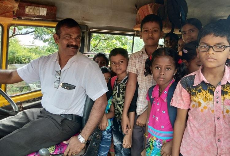 Teacher Buys A Bus, Becomes Bus Driver - All To Ensure Kids Do Not Drop Out!