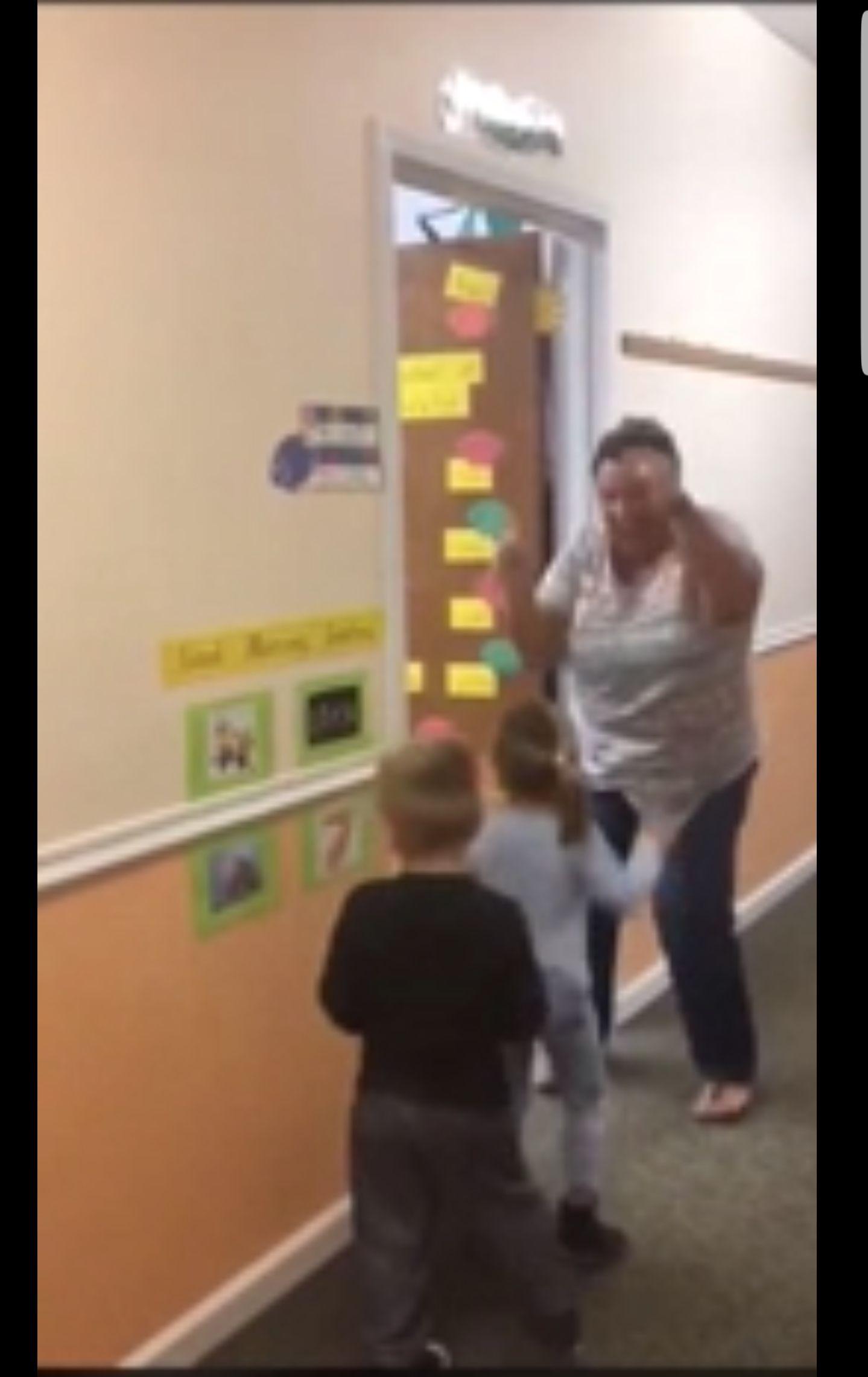 Teacher Makes Each Day Start With Fun