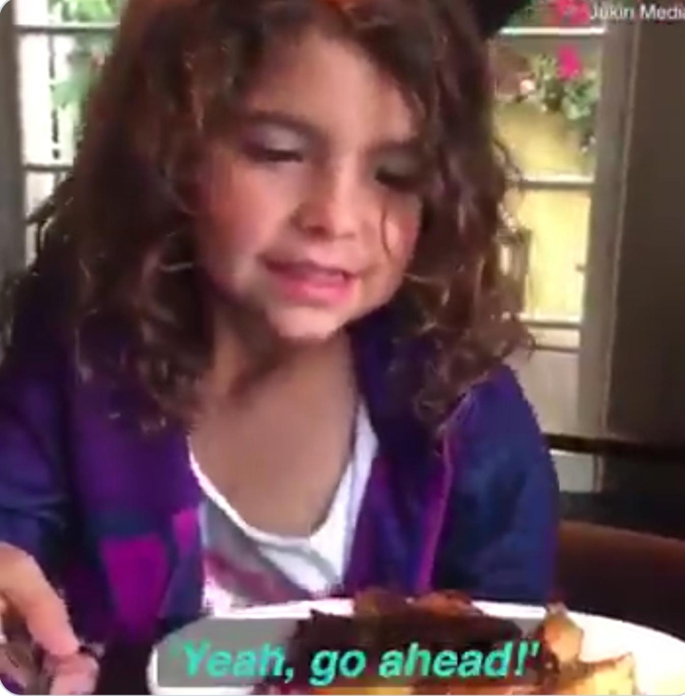 little-girl-sees-homeless-man-while-she-is-eating-breakfast