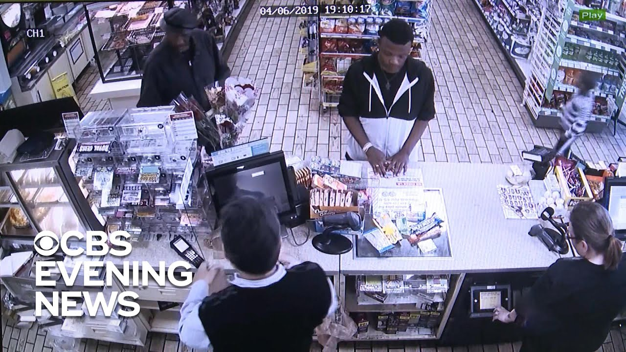 Convenience Store Owner Confronts Shoplifter With Compassion