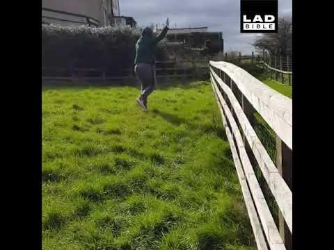 Woman Has A Dance Off With An Alpaca