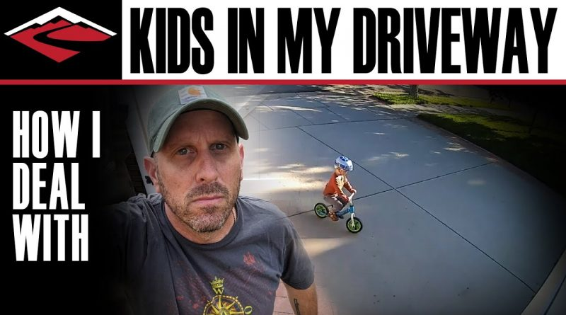 Homeowner's Positive Response To Kid Riding Bike In His Driveway 🚲